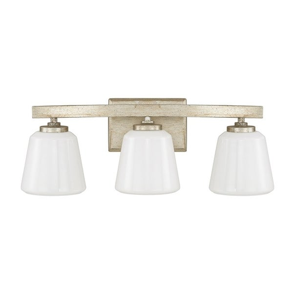 """Donny Osmond Home 8533-300 3 Light 20.75"""" Wide Bathroom Fixture from the Berkeley Collection - winter gold"""
