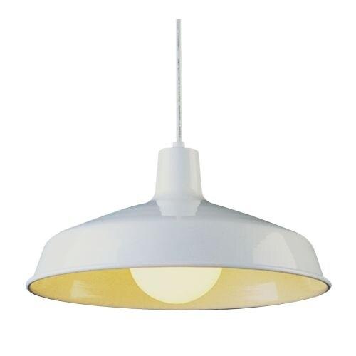 Trans Globe Lighting 1100 1 Light Industrial Dome Shaped Indoor Pendant