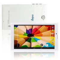 Indigi® Android 4.4 KitKat Factory Unlocked 3G 2-in-1 DualSIM SmartPhone + TabletPC w/ WiFi + Bluetooth Sync (White)