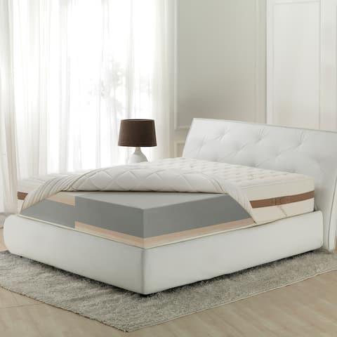 Magniflex Terra 12-inch Customizable Comfort Mattress with Bamboo - N/A