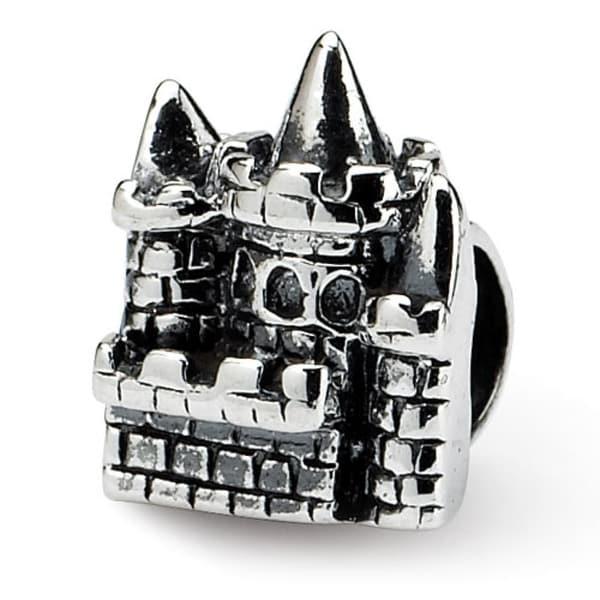Sterling Silver Reflections Kids Castle Bead (4mm Diameter Hole)