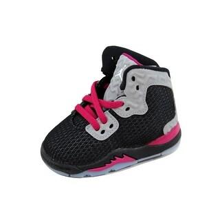 Nike Toddler Air Jordan Spike Forty Black/White-Reflect Silver-Sport Fuchsia 811123-009