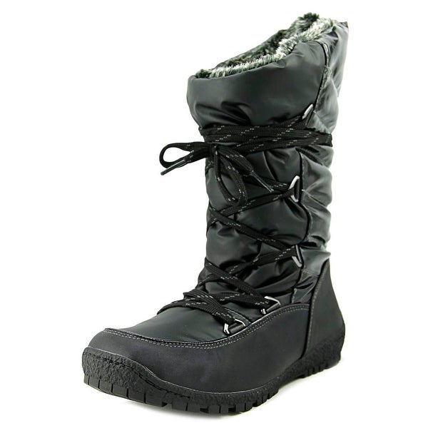 Sporto Charley Women Black Snow Boots