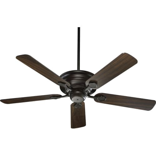 """Quorum International 76525 Barclay 52"""" 5 Blade Hanging Indoor Ceiling Fan with Reversible Motor and Blades"""