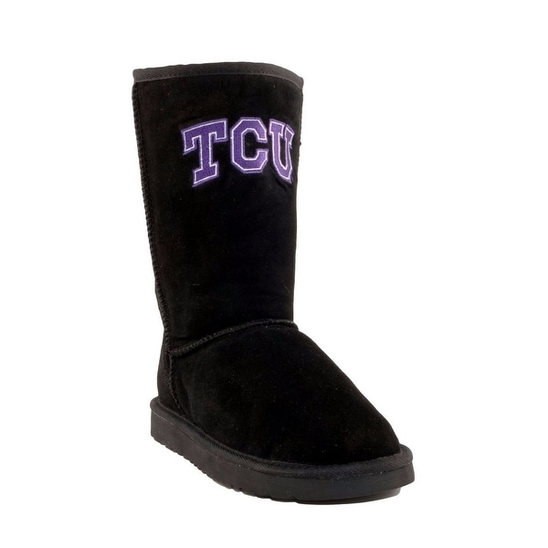 Gameday Boots Womens Texas Christian Roadie Black TCU-RL1016-2