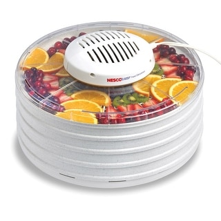 Nesco FD-37 Food Dehydrator, Clear, 425 Watts
