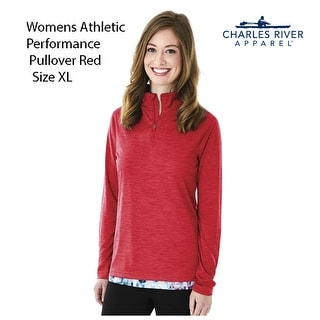 Women's Moisture Wicking Size XL, Pullover Red
