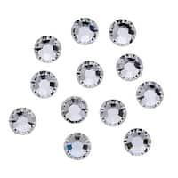 Swarovski Elements Crystal, Round Flatback Rhinestone SS34 7mm, 12 Pieces, Crystal