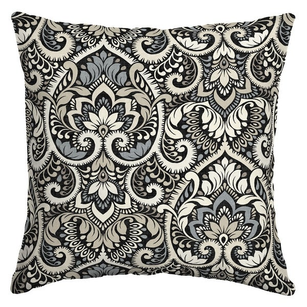 Arden Selections Aurora Damask Outdoor 16 x 16 in. Square Pillow. Opens flyout.