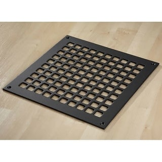 """Reggio Registers G1212-SNH Grid Series 10"""" x 10"""" Floor Grille without Mounting H - N/A"""