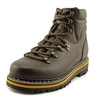Hanwag Grunten Lady Women  Round Toe Leather Brown Hiking Shoe