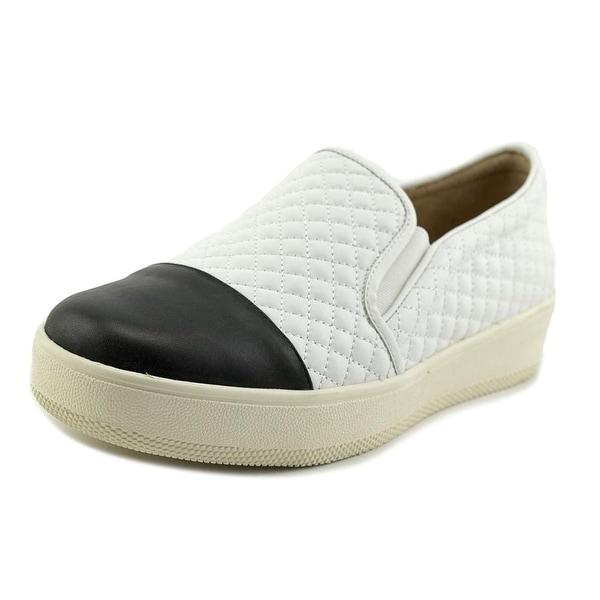 J/Slides Junior Women Black/White Flats