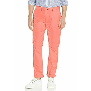 Link to Tommy Hilfiger Mens Pants Pink Size 40x32 Custom Slim Fit Chino Stretch Similar Items in Big & Tall
