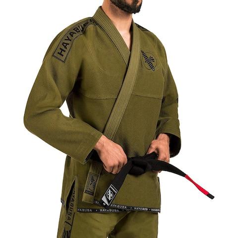 Hayabusa Lightweight Pearl Weave Jiu-Jitsu Gi - Green