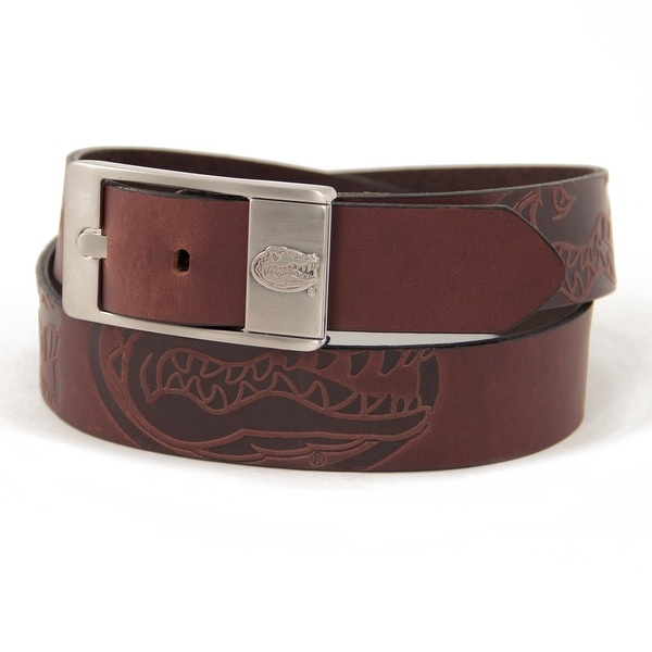 University of Florida Brandish Leather Belt