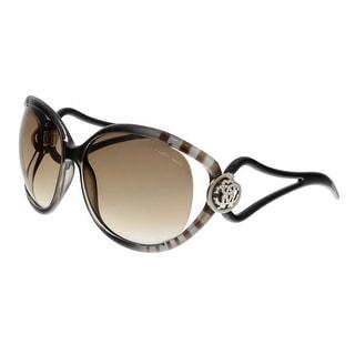 Roberto Cavalli RC893S GRAFIAS 05F Black Square Sunglasses