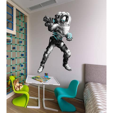 Space Monster Decal, Space Monster Sticker, Spaceman decal
