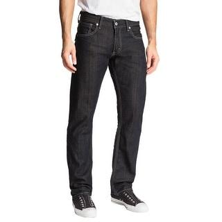 Levi's 514 Slim Fit Straight Leg Rigid Jeans Dark Blue Wash 32 x 32