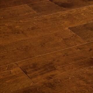 "SAMPLE Kanstar Engineered Hardwood - 33 sq. ft. Relic Birch Collection Oceanside / Birch / 7 1/2"" / 0.45"" / 9"""