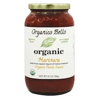 Organico Bello Pasta Sauce - Marinara - Case of 6 - 25 oz.