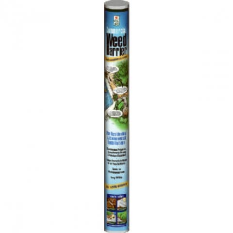 Easy GardenerA2504 Commercial Weed Barrier Landscape Fabric, Gray, 3' x 50'