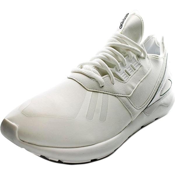 Adidas Tubular Runner K Men Round Toe Synthetic White Running Shoe