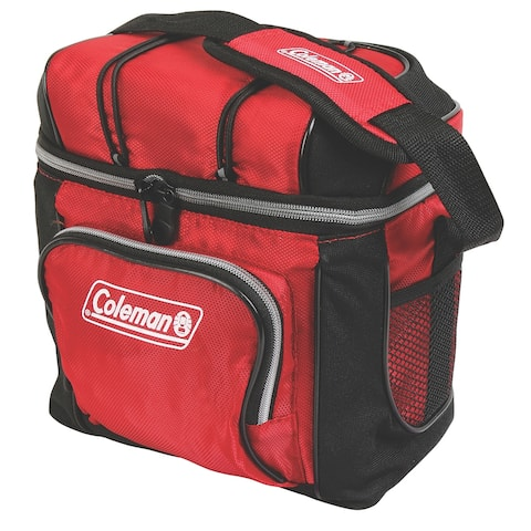 Coleman 9 can cooler red