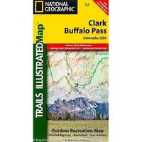 Universal Map 10539 Clark - Buffalo Pass Colorado Map