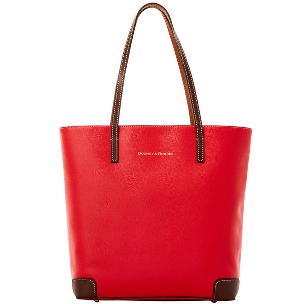 Dooney & Bourke Leather Everyday Tote (Introduced by Dooney & Bourke at $248 in Oct 2016) - Red