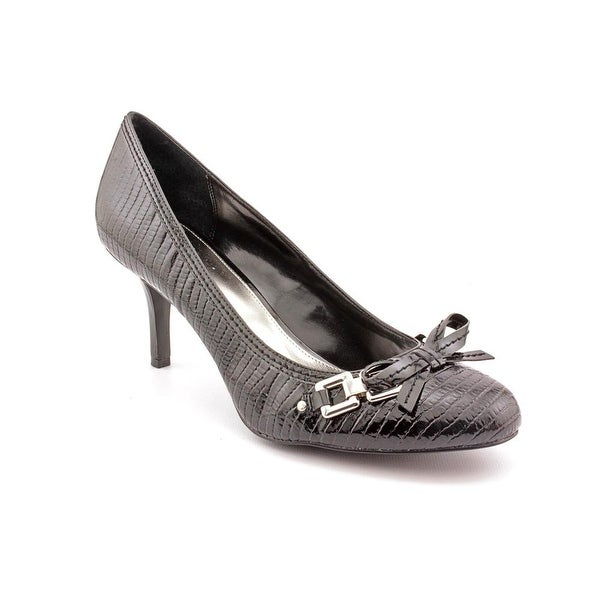 Alfani Dew Women Round Toe Synthetic Black Heels