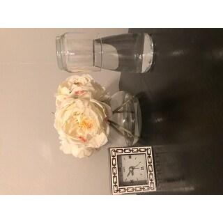 Palais Glassware Carafe set - Bedside Night Carafe 17 Oz with Tumbler Glass 10 Oz