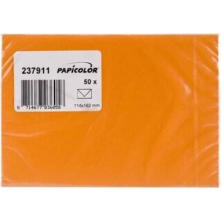 Orange - Papicolor A6 Envelopes 50/Pkg