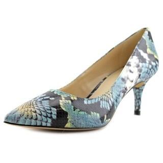 Nine West Margot Women Pointed Toe Synthetic Blue Heels