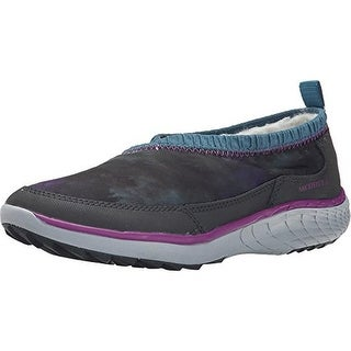 Merrell Womens Pechora Wrap Printed Faux Fur Casual Shoes