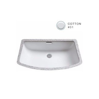 "Toto LT967 Soiree 24-3/4"" Undermount Bathroom Sink with Overflow"