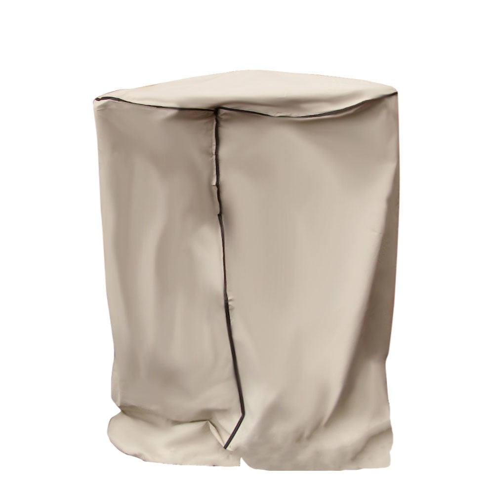 Sunnydaze Beige Outdoor Water Fountain Cover, Size Options Available - Thumbnail 2