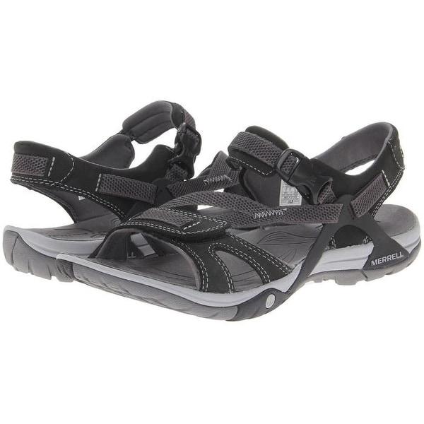 e892985d6751 Shop Merrell Women s Azura Strap Sandal Black (J24522) - Free Shipping  Today - Overstock - 27070122