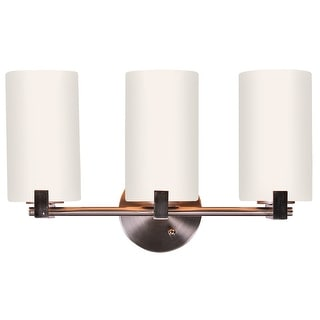 Design House 573147 Eastport 3-Light Vanity Light, Satin Nickel