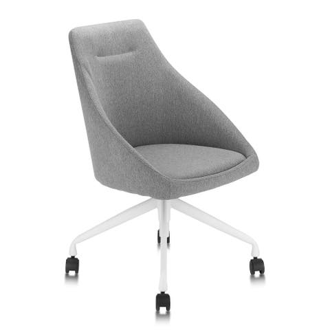 Furniture of America Danyal Two-Toned Mid-Century Modern Office Chair