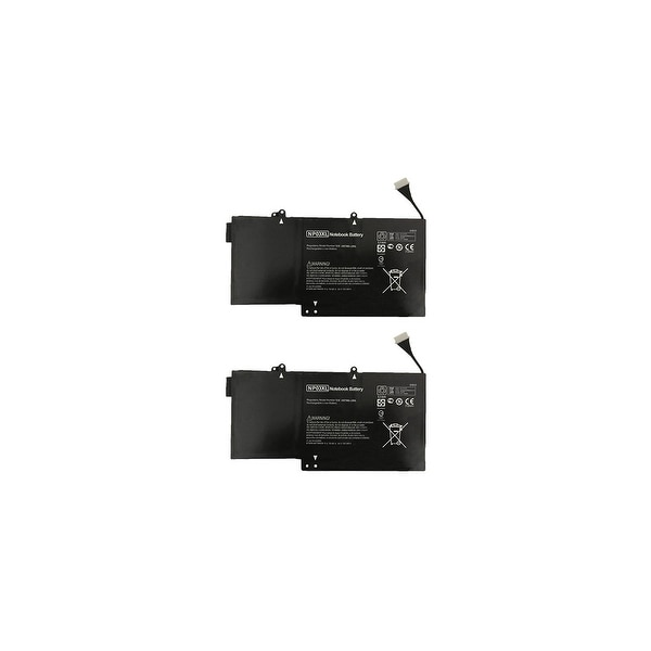 Battery for HP 761230005 (2-Pack) Replacement Battery