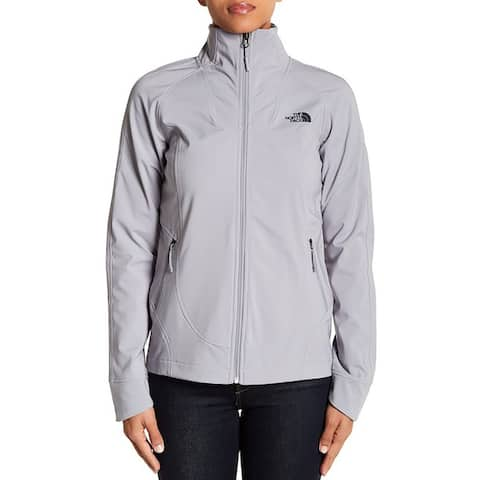 The North Face Women's Apex Byder Soft Shell Jacket Mid Grey - l