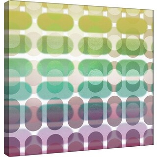 """PTM Images 9-101074  PTM Canvas Collection 12"""" x 12"""" - """"Transitions G"""" Giclee Abstract Art Print on Canvas"""