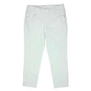 Jag Jeans Womens Amelia Slim Tummy Slimming Ankle Jeans - 14