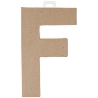 """Paper-Mache Letter 8""""X5.5""""-F"""
