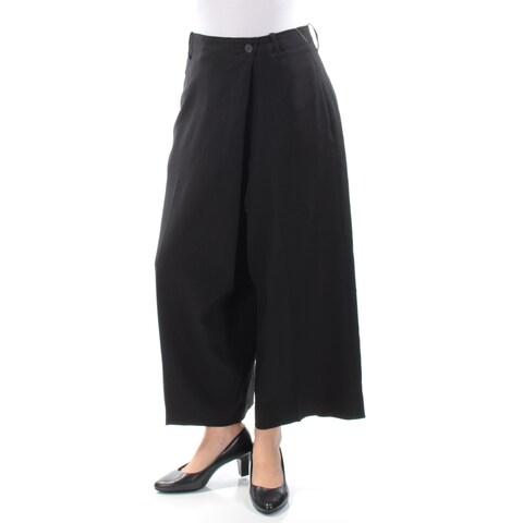 ANNE KLEIN Womens Black Wear To Work Pants Size: 6