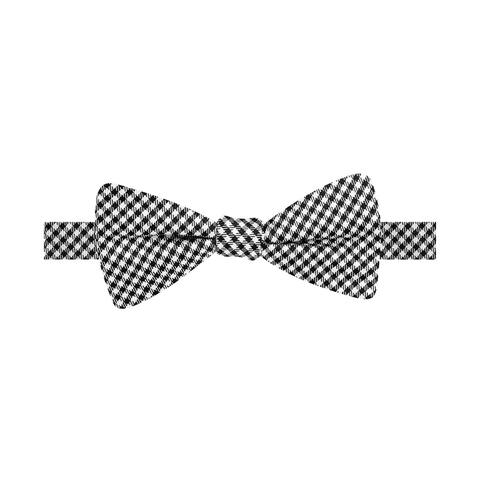 Countess Mara Mens Gingham Bow Tie - One Size