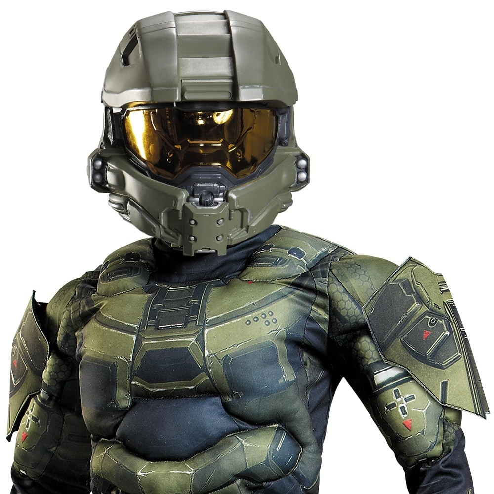Master Chief Full Helmet Child Costume Accessory
