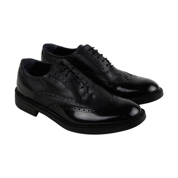 Kenneth Cole New York Design 106212 Mens Black Casual Dress Oxfords Shoes