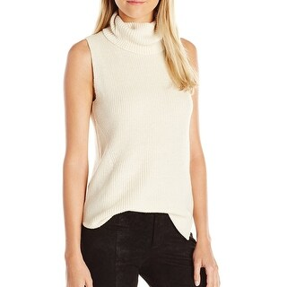 French Connection NEW Beige Womens Size XS Vest Sleeveless Sweater