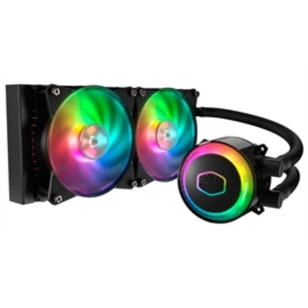 Cooler Master Fan MLX-D24M-A20PC-R1 MASTER LIQUID ML240R RG COOL INT AMD RGB Retail - Pictured. Opens flyout.
